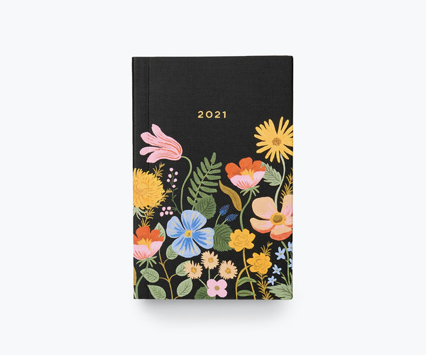 Rifle Paper Co. Strawberry Field 12 Month Pocket Agenda