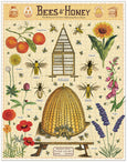 Cavallini & Co. Bees & Honey 1000 Piece Puzzle