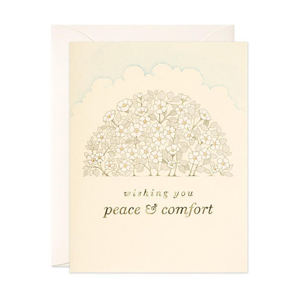 Peace & Comfort Greeting Card
