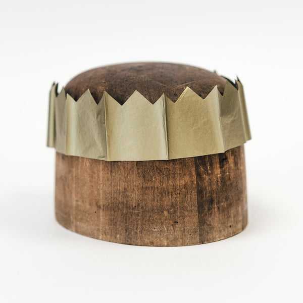 Metalic Gold Paper Crowns