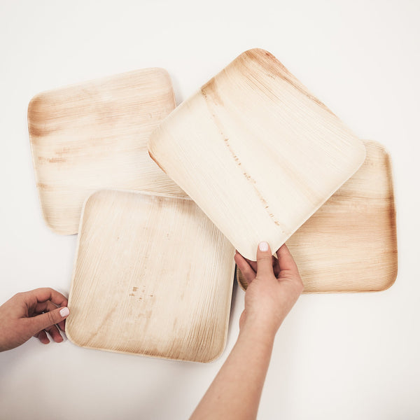 Leafware Sustainable Square Plate