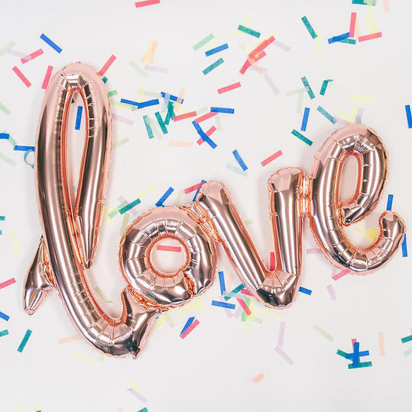 Love Balloon Banner
