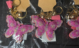 Butterfly Kisses keychain