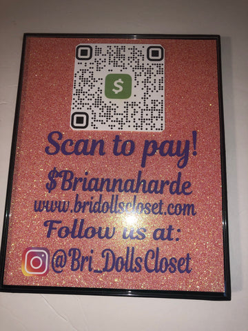 Custom Payment Sign