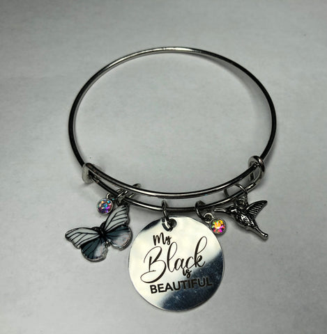 My Black is Beautiful Stacked Bangle