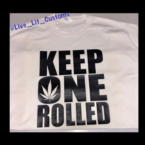 Keep One Rolled T-Shirt