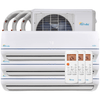 28000 BTU TRI-ZONE MINI SPLIT AIR CONDITIONER - HEAT PUMP - CoolingDiscount