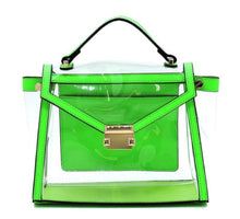 Load image into Gallery viewer, See Thru Neon Satchel