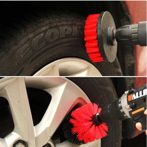Power Scrubber Brush Set ( 3pcs/Set )