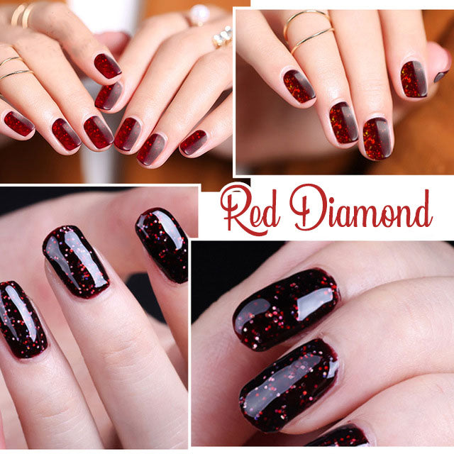 3D Red Diamond Gel