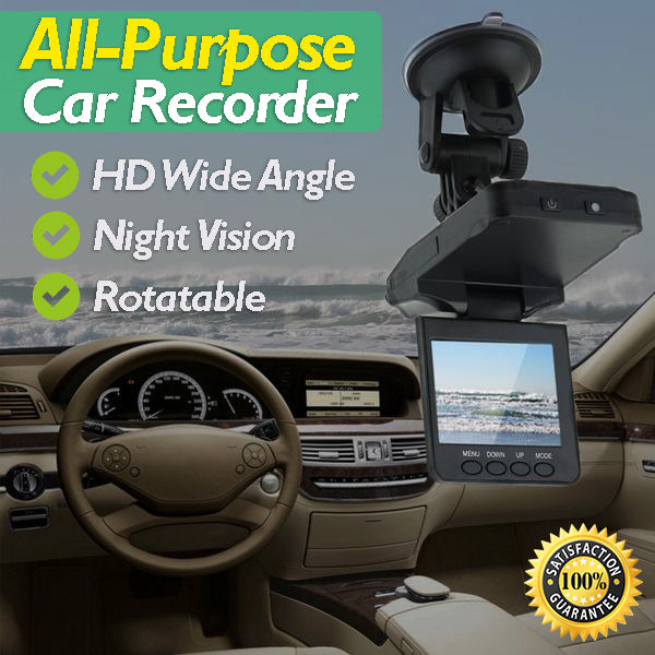 All-Purpose Car Recorder