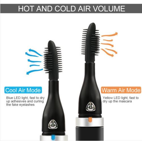 Air-lash Curler with Warm & Cool Air