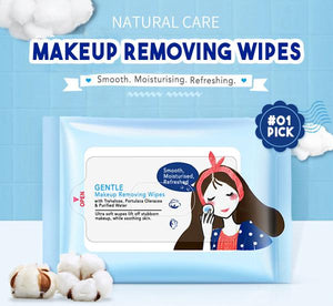 Makeup Remover Wipes (25pcs)