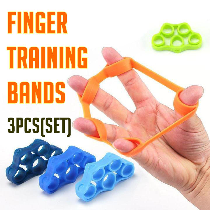 Finger Training Bands (3pc Set)