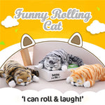Funny Rolling Cat