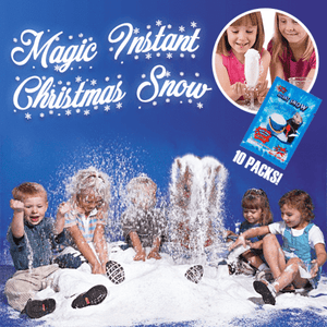 Magic Instant Christmas Snow (Set of 10)