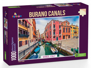 Funbox 1000pc Burano Canals