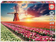 Load image into Gallery viewer, Educa 1500pc Tulips Landscape