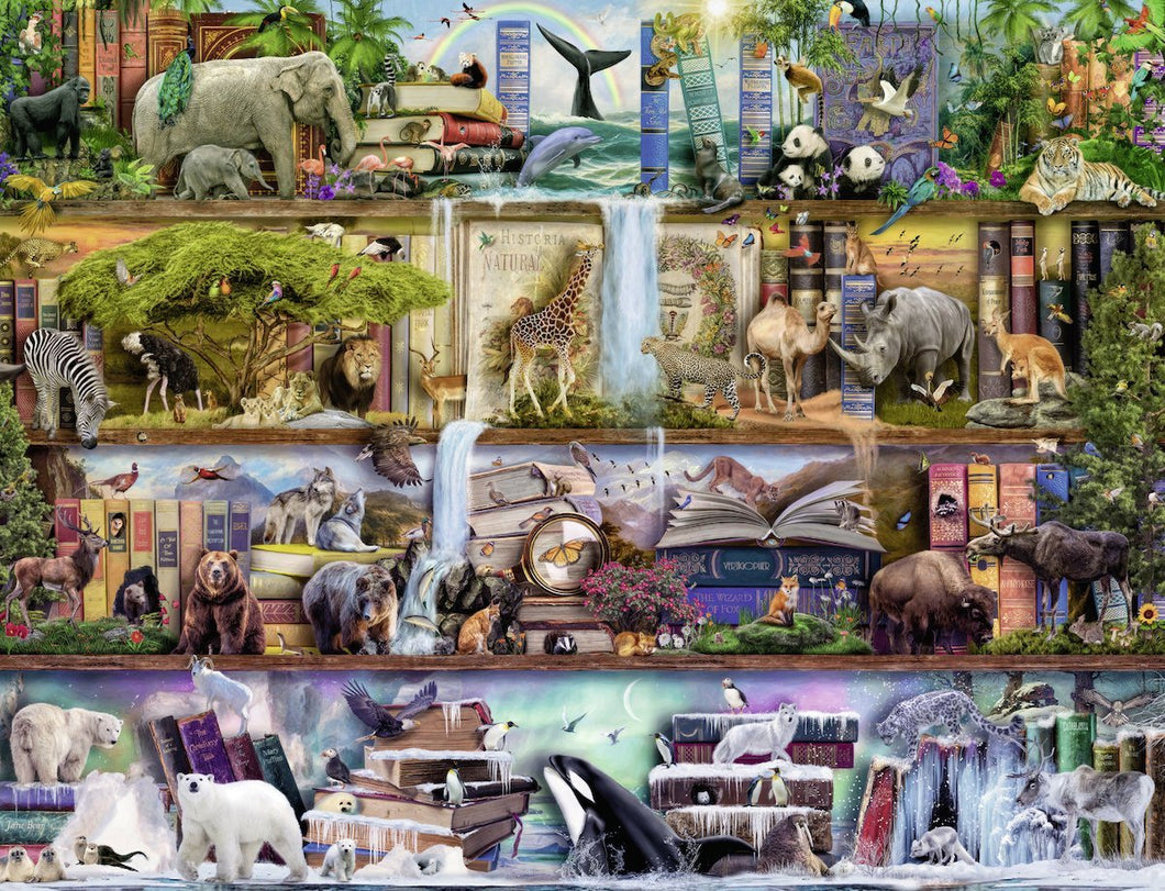 Ravensburger 2000pc Wild Kingdom Shelves