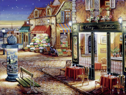 Ravensburger 1500pc Paris's Secret Corner