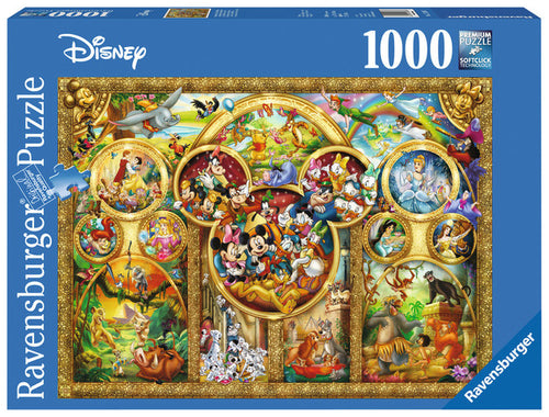 Ravensburger Disney 1000pc Best Disney Themes