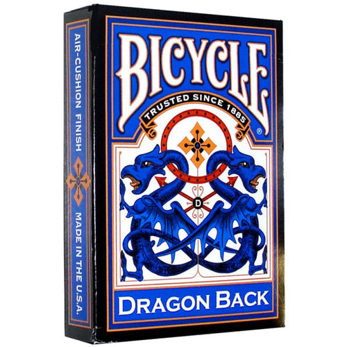 Bicycle Cards - Blue Dragonback