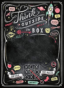 Clementoni 1000pc New Blackboard Think Outside The Box