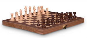 French Cut 30cm Chess Set