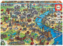 Load image into Gallery viewer, Educa 500pc London Map