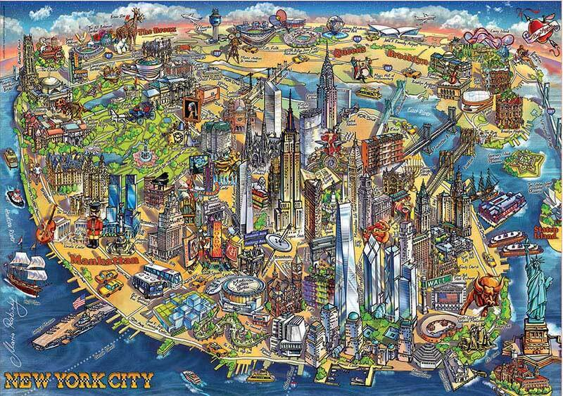 Educa 500pc New York City
