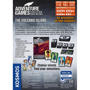 Adventure Games - The Volcanic Island