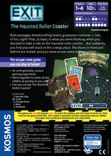 Load image into Gallery viewer, Exit The Game - The Haunted Roller Coaster