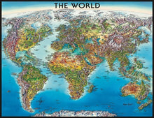 Load image into Gallery viewer, Ravensburger 2000pc World Map
