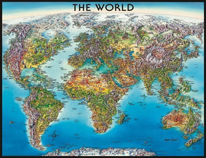 Ravensburger 2000pc World Map