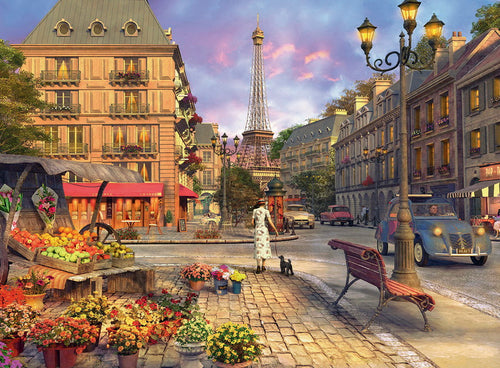 Ravensburger 500pc A Walk Through Paris