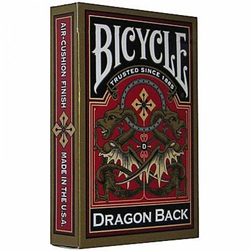 Bicycle Cards - Gold Dragonback