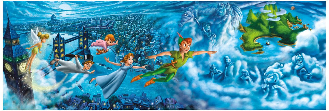 Clementoni 1000pc Panorama Peter Pan
