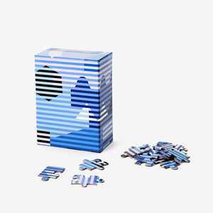 Areaware Pattern 100pc Lenticular Puzzle