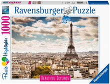 Load image into Gallery viewer, Ravensburger 1000pc Paris Beautiful Skyline
