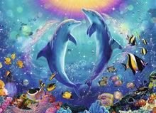 Load image into Gallery viewer, Ravensburger 500pc Dancing Dolphins