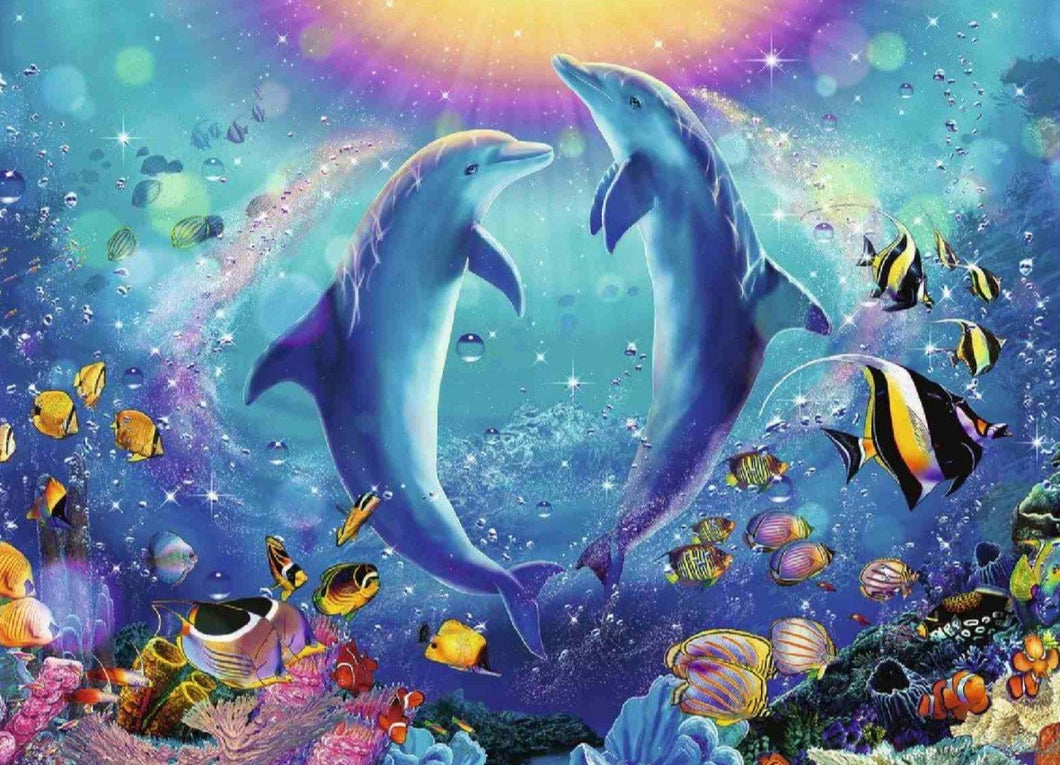 Ravensburger 500pc Dancing Dolphins
