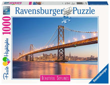 Load image into Gallery viewer, Ravensburger 1000pc Beautiful Skylines San Francisco