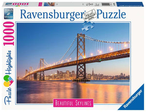 Ravensburger 1000pc Beautiful Skylines San Francisco