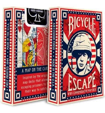 Bicycle Cards - Escape Map