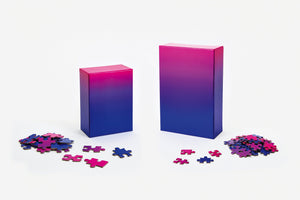 Areaware Gradient 100pc Puzzle Blue/Pink