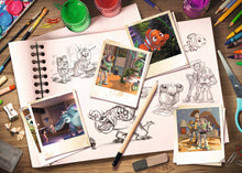 Load image into Gallery viewer, Ravensburger Disney 1000pc Sketches