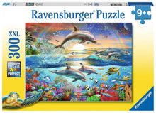 Load image into Gallery viewer, Ravensburger 300pc Dolphin Paradise