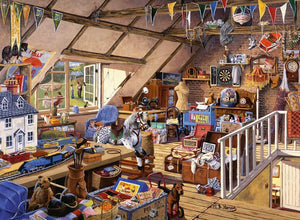 Ravensburger Large Format 500pc Grandma's Attic