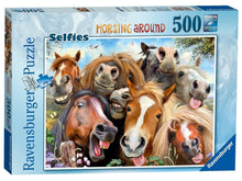 Load image into Gallery viewer, Ravensburger 500pc Horsing Around