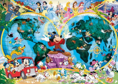 Ravensburger Disney 1000pc World Map